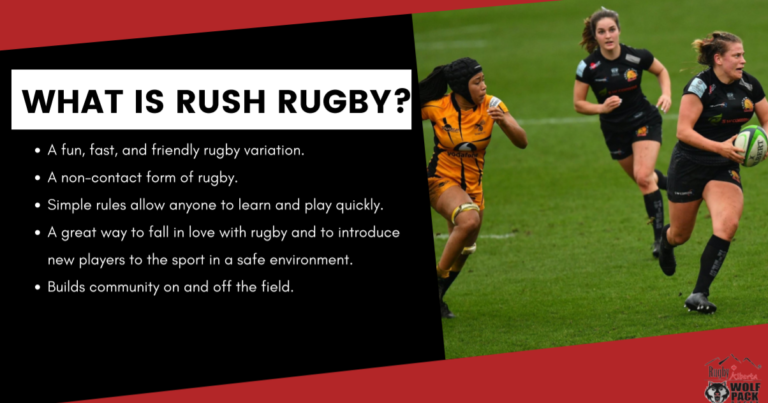 RUSH Rugby – Want to try rugby without the tackling??
